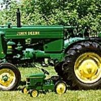 1996 1950 John Deere model