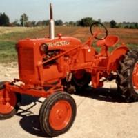 1999 1950 Allis Chalmers model CA farm tractor Winner - Dave Woodman, Wolfe Island