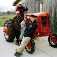 2006 1953 Case Model VAC Winner - Diane Ross-Langley & Family Victoria Harbour, ON